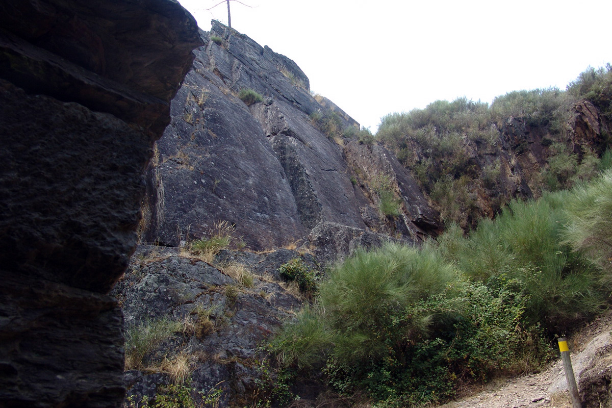 Fragas do Castelo no percurso amarelo