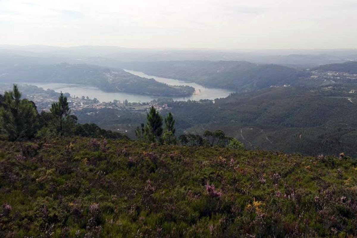 Paisagem - meandro rio Douro