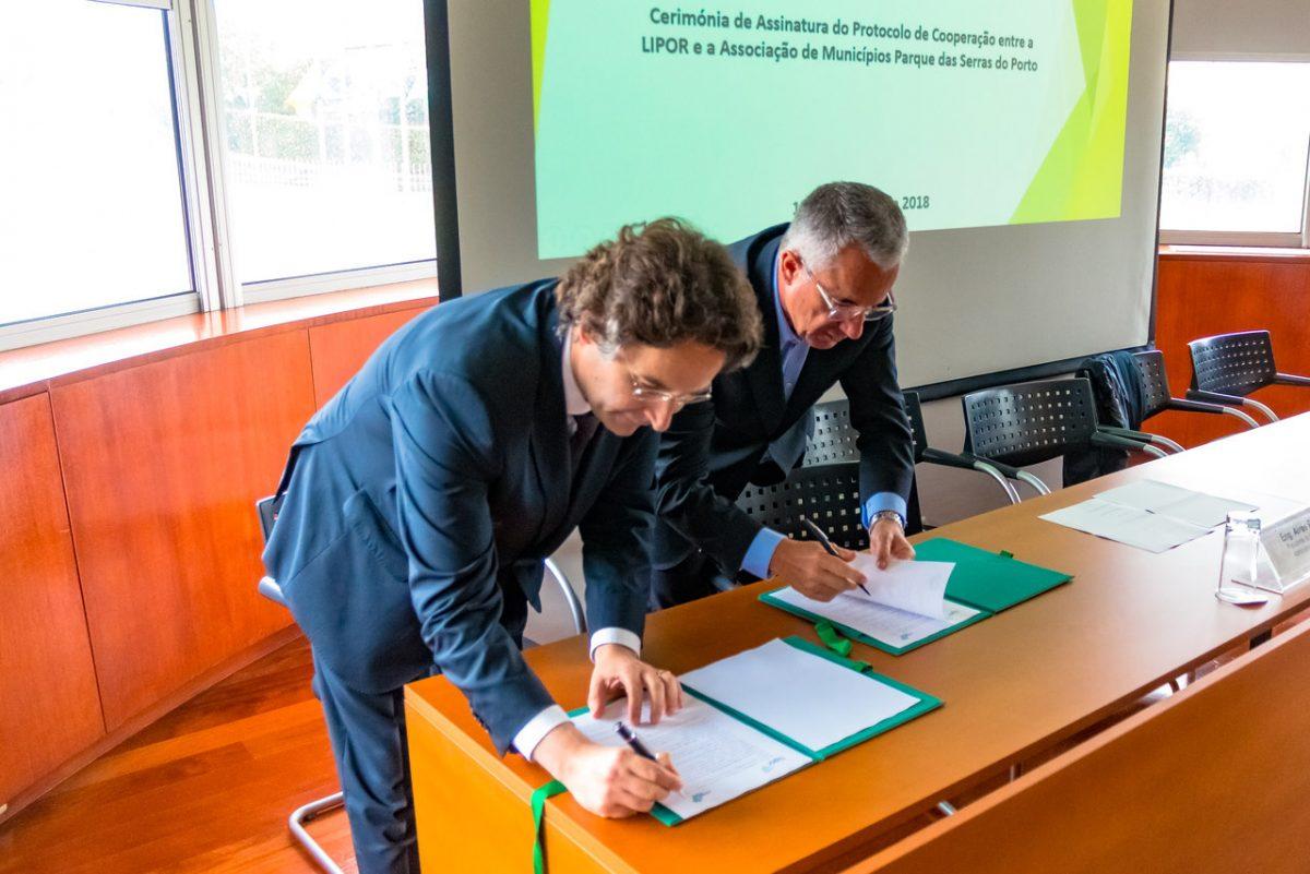 Assinatura protocolo com Lipor