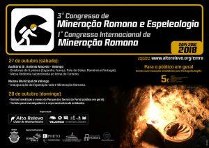 Cartaz Congresso Internacional Mineração Romana
